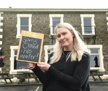 Careys Bay Hotel owner Jo Kidston was forced to close her doors yesterday - for the fourth time...