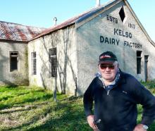 Tapanui historian Charlie Davis is leading a project to conserve the 106-year-old former Kelso...