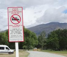Freedom campers are still camping illegally despite the support of council provided services such...