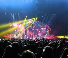 Pink's popular show at the Forsyth Barr stadium in September last year.PHOTO: STEPHEN JAQUIERY