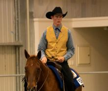 Western rider Stuart Beattie will compete against Australia in a New Zealand youth team later...
