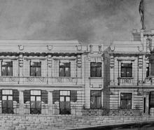 The Returned Soldiers' Association's proposed clubhouse, Moray Pl, Dunedin. - Otago Witness, 21.5...