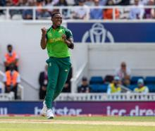 Lungi Ngidi of South Africa has missed three matches since but after being put through his paces...