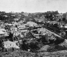 A view of Maryhill, Mornington. - Otago Witness, 25.6.1919