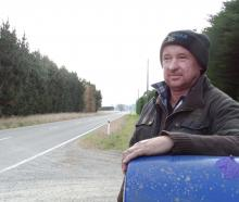 Shortland Rd resident Brent Mulligan says speeding vehicles are a common sight in the north...