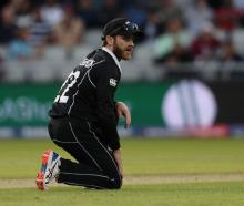 Black Caps captain Kane Williamson in the field against West Indies. Photo: Reuters