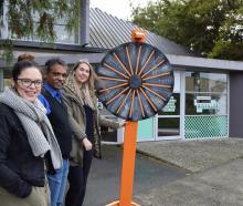 Audacious programme manager Rachel Butler (left), University of Otago marketing department senior...