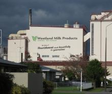 Westland Milk Products, Hokitika. PHOTO: SUPPLIED