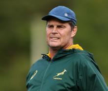 Springboks coach Rassie Erasmus. Photo: Getty