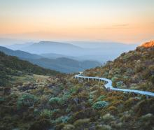 The Hump Ridge track crosses bush, beaches, viaducts and, pictured here, alpine tops. PHOTO:...