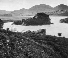 Marble Island, on the route to Hanmer Springs, North Canterbury. - Otago Witness, 23.7.1919