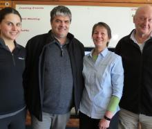 Members of the Southern Dairy Hub team held four meetings last week to update farmers on the...