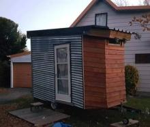 The Wanaka tiny house was advertised for $290 per week for a couple. Photo: Supplied