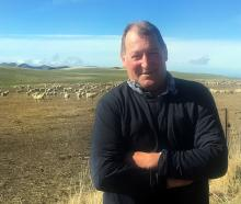 East Otago farmer Hamish Carswell at home on his farm near Dunback. PHOTO: SALLY RAE