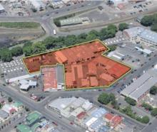 The new owners of an area in Anzac Ave have not yet come forward with their intentions. PHOTO:...
