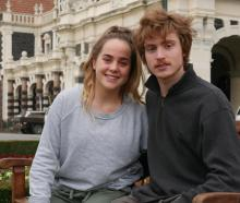 Grace and Thomas Walding will run their first half marathon as part of the Dunedin Marathon next...