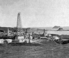The oil wells at Moturoa, near New Plymouth, which so far have not come up to expectations. -...