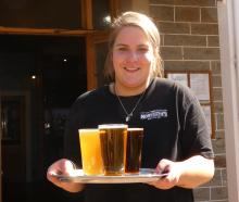 Monteiths Brewery Bar Alexandra front of house Georgia Ellenden in full swing this week. Photo:...