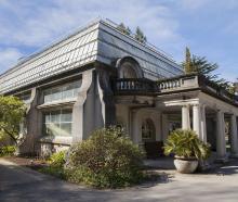 Botanic Gardens - Cunningham House.  PHOTO: GEOFF SLOAN