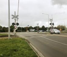 The Hoskyns Rd railway crossing in Rolleston is one of four crossings in the district that are...