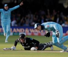 The Black Caps lost the Cricket World Cup final after not hitting as many boundaries as England....