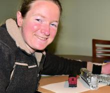 Anna Thomas will be displaying one of her model train carriages at next month's Big Model Train...