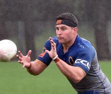 New Otago captain Dylan Nel at training at Logan Park yesterday. PHOTO: GREGOR RICHARDSON