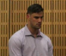 Highlanders player Manaaki Selby-Rickit during his appearance in the Invercargill District Court...