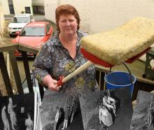 Sick of cleaning up urine and vomit from her Bath St car park is John Swan & Co owner Janette...