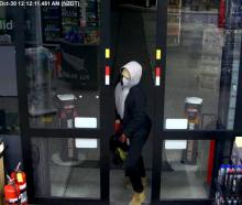 Police have released this CCTV image after an aggravated robbery last month.