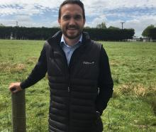 Ollie Knowles is DairyNZ's new Regional Leader Southland. Photo: DairyNZ