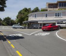 The installation of traffic lights at the Hoon Hay, Worsleys and Cashmere Rds intersection will...