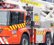 A man has died after a house fire on Breens Rd in Christchurch.