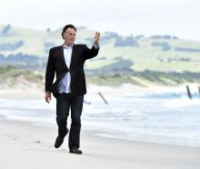 Dunedin city councillor Jules Radich is keen to advance his plan to reinstate groynes at St Clair...