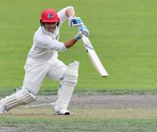 Canterbury batsman Ken McClure scored 101 not-out during East Christchurch Shirley's win over...
