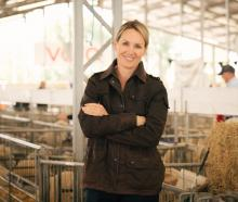 HANDS-ON: Nicola Grigg was born and raised on a farm in Mount Somers.