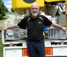Recently elected Waitaki Power Trust chairman John Clements is excited about his new role. PHOTO:...