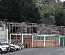 The former Sims Engineering building in Port Chalmers.