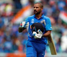 India's Shikhar Dhawan. Photo: Reuters