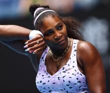 It was Serena Williams' earliest exit from the year's first Grand Slam since 2006. Photo: Reuters