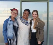 New Ashburton Multicultural Trust trustees (from left) Mirian Florez, Tumanu JR Paiaaua and...