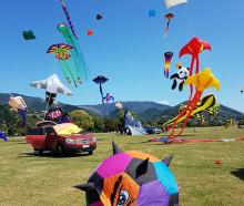 The New Zealand Kite Tour 2020 will be at Lake Hood on Sunday.