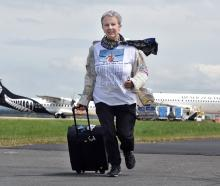 Travelling the world and running one runway at a time is retiree Carol Thomas, of Schaumburg,...