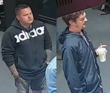 Police said on social media today the men, pictured in CCTV footage, may have witnessed an...