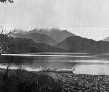Lake Kanieri, a lovely sheet of water, about 19 kilometres from Hokitika, Westland. — Otago...