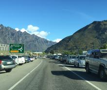 Revamped public transport in Queenstown could help solve traffic jams, such as this one near...