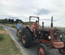 East Otago farmer Will Heckler shuttles precious cargo back to the holiday house after a day at...