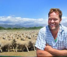 Quailburn Downs manager Trent Spittle is supplying merino wool for Kathmandu's new merino...