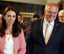 Jacinda Ardern and Scott Morrison. Photo: Pool/NZ Herald