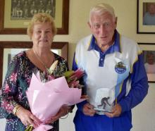 Between them, Wilma and Charles Burrell boast 100 years of active membership with the Taieri...